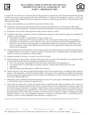 Fillable New Mexico Rental Lease Agreement Form Edit