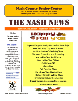 Nash County Senior Center