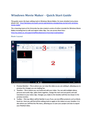 Movie Maker Online Free Fillable Printable Samples Templates