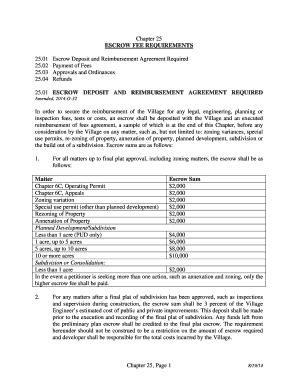 Escrow account agreement sample editable fillable printable escrow account agreement sample platinumwayz