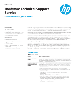 Printable technical specification document sample pdf - Edit