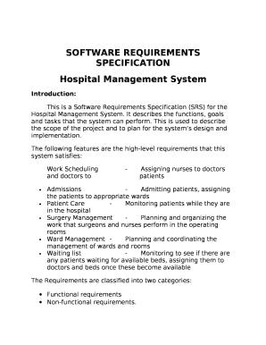 hospital management system pdf