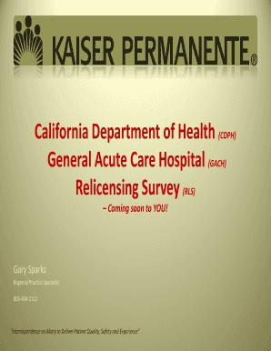 California Department of Health (CDPH) Fill Online