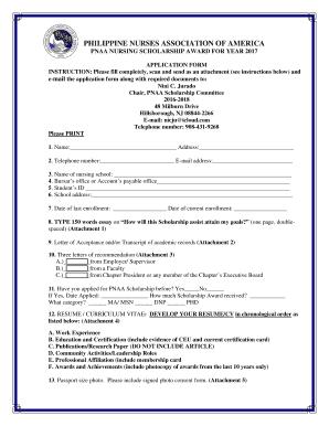 Nursing Resume Format Pdf Fill Print Download Online Resume