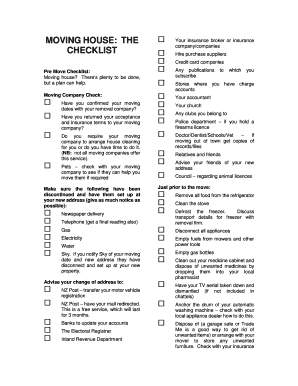 Printable move out cleaning checklist template - Fill Out ...