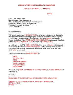 Sample letter to indian government official printable governmental sample letter for tac delegate nomination spiritdancerdesigns Images