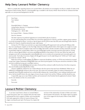 How To Write A Clemency Letter Choice Image - Letter Format Formal Trial Sample Letter Of Clemency on sample prison letters, examples of pardon request letters, sample of victim impact letters,