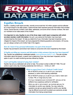 how to know if equifax breach affected me