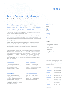 markit counterparty manager user guide