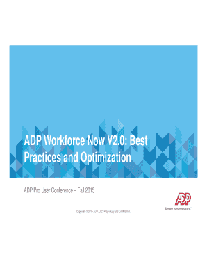 adp workforce now administrator guide - Edit Online, Fill Out