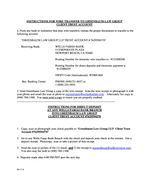 wells fargo routing number 122000247 - Edit Online, Fill Out ... on