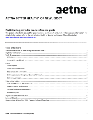 Fillable aetna provider manual - Download Budget, Bussiness