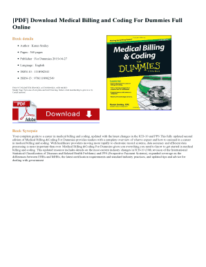 Fillable Medical Billing And Coding Books Free Download Pdf