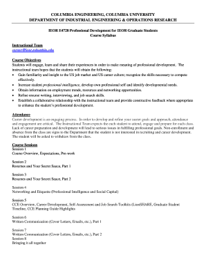 Printable Lionshare Columbia University Edit Fill Out