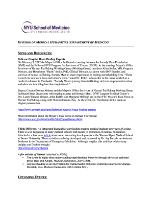 Printable nyu langone medical center human resources - Edit
