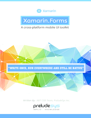 syncfusion xamarin pdf - Edit, Fill, Print & Download Best