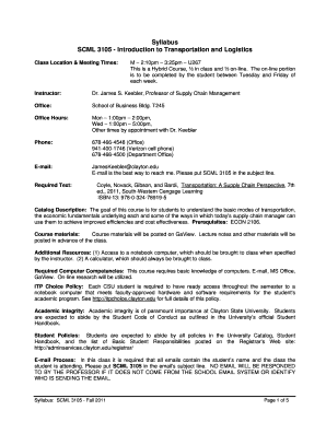 Editable introduction letter of logistics company - Fill Out