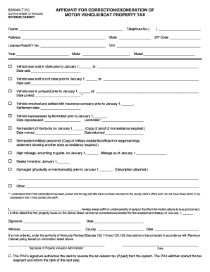 Bill of sale form kentucky affidavit supporting vehicle for Kentucky department of motor vehicles driver s license