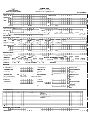 United India Claim Form - Fill Online, Printable, Fillable, Blank ...
