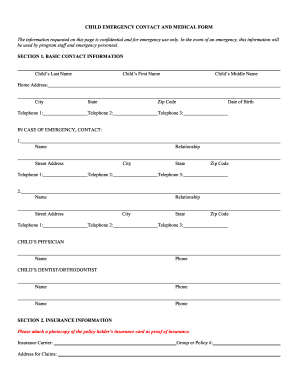 25 printable emergency contact form for students templates