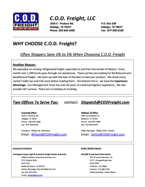 Editable freight broker introduction letter - Fill Out Best Business ...