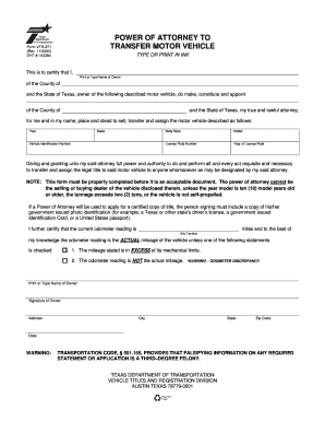 Bill Of Sale Form Georgia Limited Power Of Attorney Form Templates ...