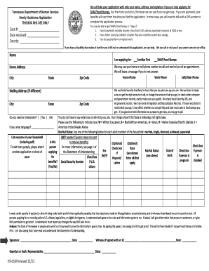 Food Stamp Application Tn Online