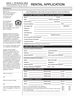 apartment application form canada pdf