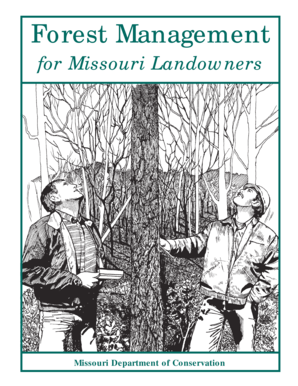Forest Management for Missouri Landowners - Forest and  - forestandwoodland
