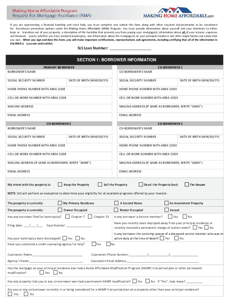 Sls Mortgage - Fill Online, Printable, Fillable, Blank