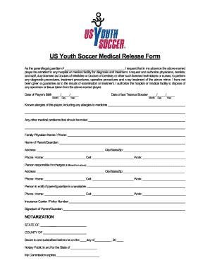 Badic Soccer Waiver Form - Fill Online, Printable, Fillable, Blank ...