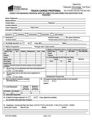 loan proposal