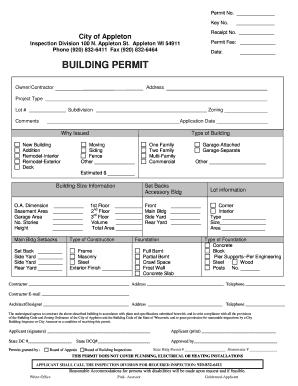 Eugene Building Permit Inspection