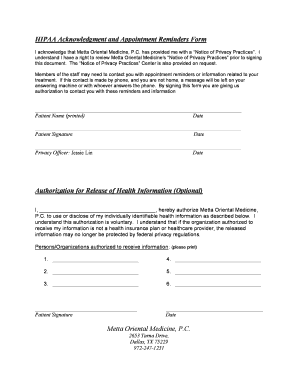 Fax Cover Sheets |Fax Hipaa Reminders