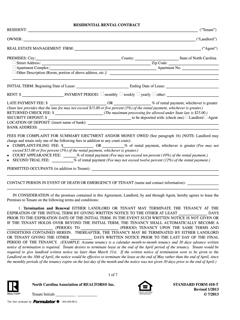 2013 2019 Form Ncar Sf 410 T Fill Online Printable
