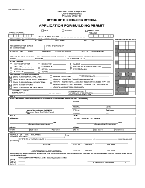 Electrical Permit Form - Fill Online, Printable, Fillable, Blank ...