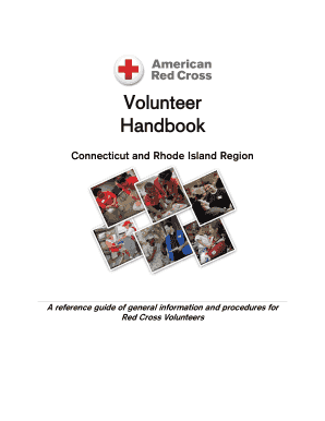 Volunteer Handbook - American Red Cross