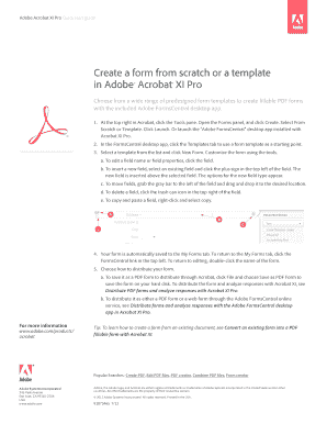 Fillable Online Create a form from scratch or a template - Adobe Fax