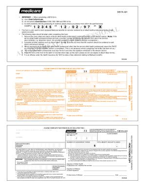 Medicare Db4 - Fill Online, Printable, Fillable, Blank | PDFfiller