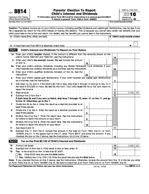 Form s 8814 for 1040nr tax table 2013