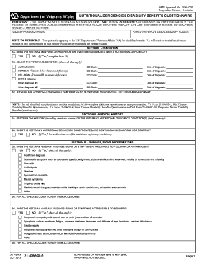 14 Printable va disability forms Templates - Fillable