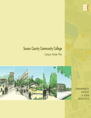 Sussex County Community College Campus Master Plan Sussex County Community College Board of Trustees Kirk S - sussex