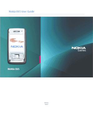 Nokia e65 nokia e65 manual.