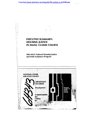 department of housing application and processes