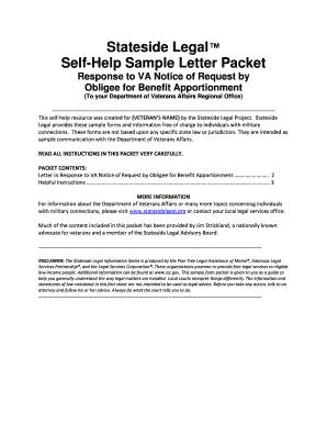 Fillable online statesidelegal self help sample letter packet fill online spiritdancerdesigns Image collections