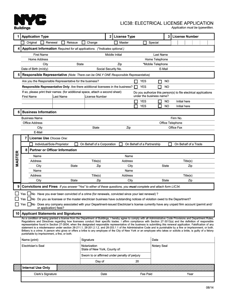 w2 form nyc  5-5 Form NYC Buildings LIC5 Fill Online, Printable ...