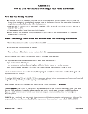 Printables Postalease Fehb Worksheet 2013 2017 form usps 24 fill online printable fillable blank 24