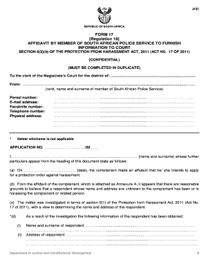 Editable saps affidavit south africa fill print download forms saps affidavit south africa form 17 department of justice and constitutional development maxwellsz