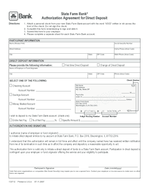 Editable state farm authorization and direction to pay form ...