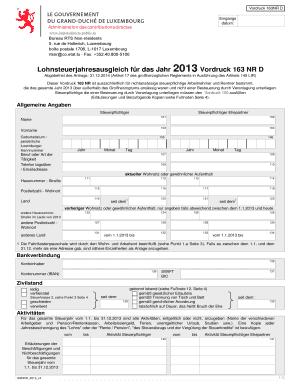 lohnsteuerjahresausgleich luxemburg hollerich fill printable fillable blank pdffiller